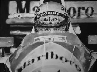 Ayrton Senna Drawing
